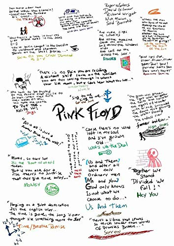 Divine Posters Pink Floyd Rock Band Progressive Rock Psychedelic Rock Musician Singer Songwriter DJ Record Producer 12 x 18 Inch Multicolour Famous Poster