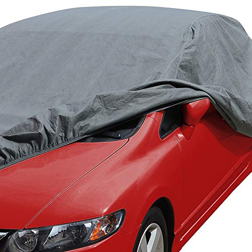 "Motor Trend 4-Layer 4-Season (Waterproof Outdoor UV Protection for Heavy Duty Use Full Cover for Cars up to 228"")"