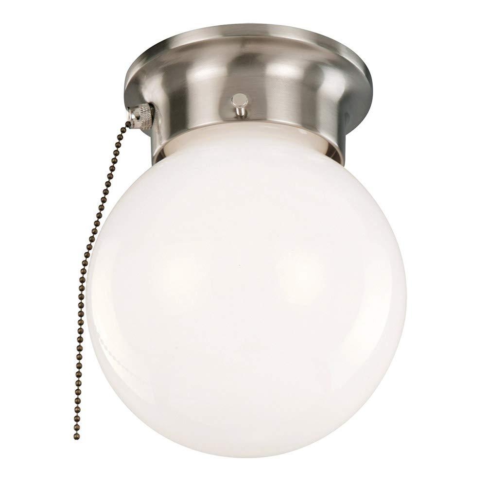Design House 519272 1 Light Ceiling Light with Pull