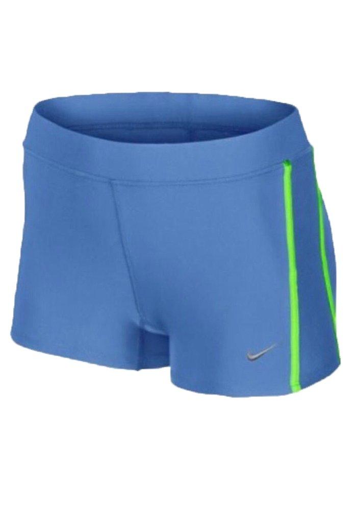 NikeレディースDri - Fit圧縮Running Shorts Large ブルー B00PKWOENC