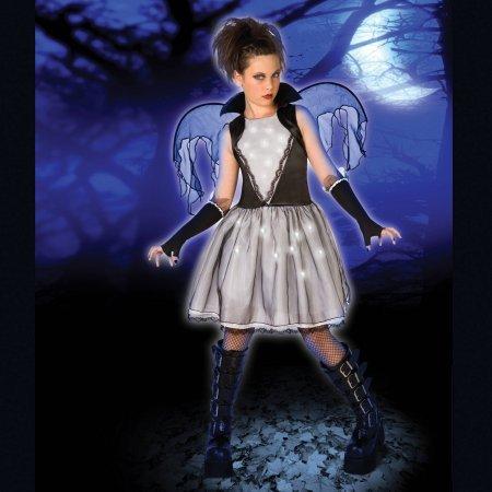 [Light-Up Dark Angel Child Halloween Costume] (Costume Halloween Walmart)