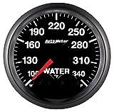 Auto Meter 5655 Elite 2-1/16'' 100-340 Degree Fahrenheit Water Temperature Gauge