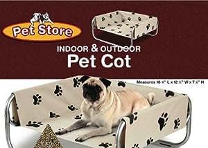 Raised Indoor/Outdoor Pet Cot