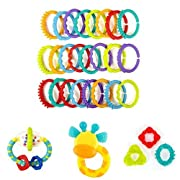 Bright Starts 4 Piece Teether Bundle