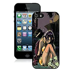 Best-Diy Nice Designed cell phone case cover With Cowboy Bebop Cover case cover For iPhone 5S w2S9BzzyJav Black cell phone case cover