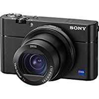 Sony Cyber-Shot DSC-RX100 V 4K Wi-Fi Digital Camera with 64GB Card + Case + Battery & Charger + Flex Tripod + Kit from Sony