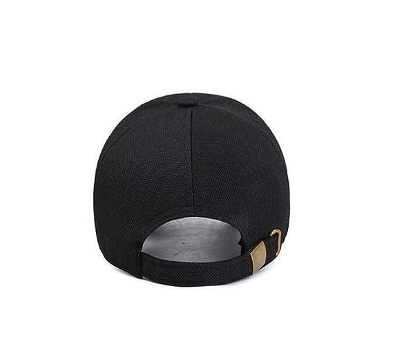 ZBHQTDZ Verano Sombreros para el Sol para Mujer Gorra de béisbol sombrilla Moda Casual Hip Hop Tapa de protección Solar UV Protección Pesca Playa ...
