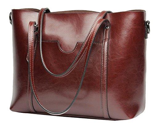 Extra Large Leather Bag - 9