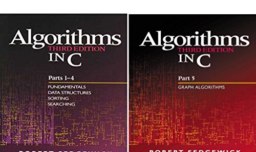 Algorithms in C, Parts 1-5 (Bundle): Fundamentals, Data Structures, Sorting, Searching, and Graph Algorithms (3rd Edition) (2 Book Series) by