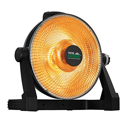 Twin-Star Home SH-106 Radiant Parabolic Utility - Twin Star Home Tower Heater