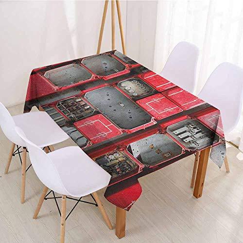 ScottDecor Table Cover Christmas Tablecloth W 50