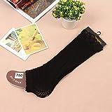 D&D Knee high tube socks fashion openwork lace/mosaic anti-take off your sock/socks/knee socks