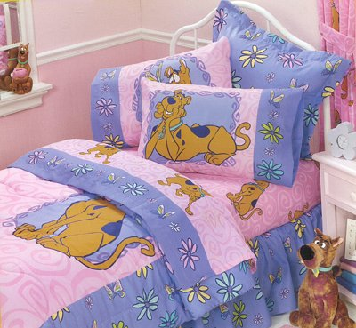 scooby doo springtime twin bedding comforter sheets - Scoobydoo Bedding