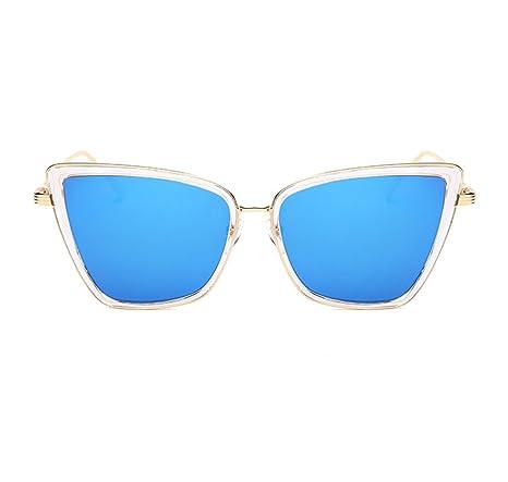 HAOYUXIANG Tendencia Moda Gafas De Sol Europa Y Los Estados ...