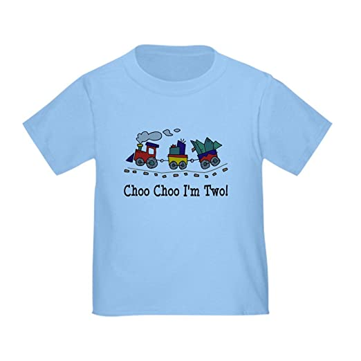 Amazon.com  CafePress - Choo Choo I m 2 Toddler T-Shirt - Cute ... 79321ceb89b3