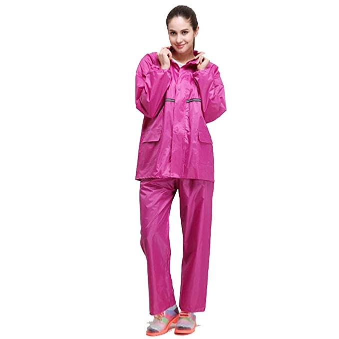Pioneer Clan Mujer Chaqueta Impermeable/Traje de pantalón A ...