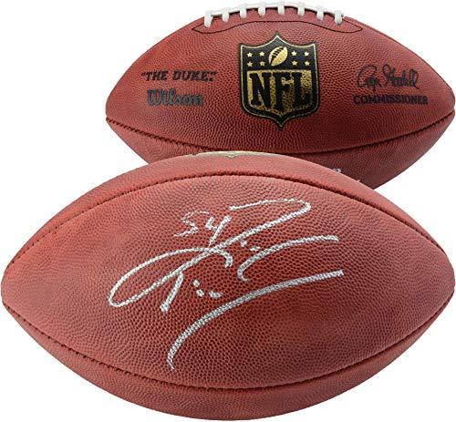 Zach Thomas Miami Dolphins Autographed Duke Pro Football - Fanatics Authentic Certified - Autographed Footballs