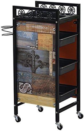 ALUP- 引き出しのティア多機能トロリー美容院の収納トレイ美容メイクアップカート - ツールカート (色 : #1, サイズ さいず : Four floors)