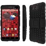 Motorola Droid Ultra / Droid Maxx Phone Case, MPERO IMPACT SR Series Kickstand Case for Motorola DROID MAXX / DROID ULTRA XT1080 XT1080M - Black