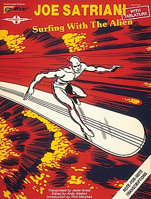 Joe Satriani - Surfing with the Alien - Guitar Personality (Joe Tabs Guitar Satriani)