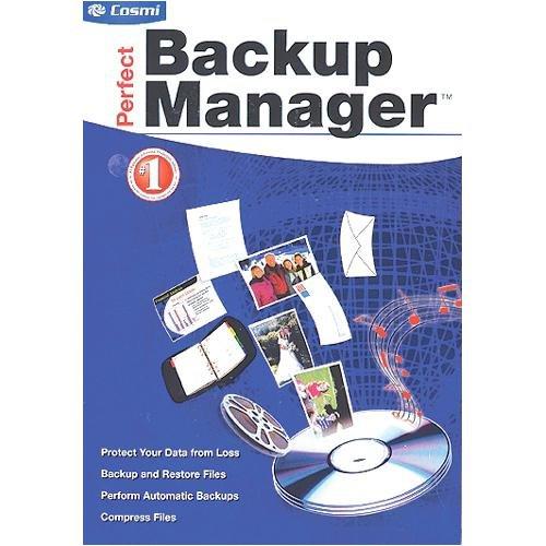 Amazon com: COSMI Perfect Backup Manager ( Windows )