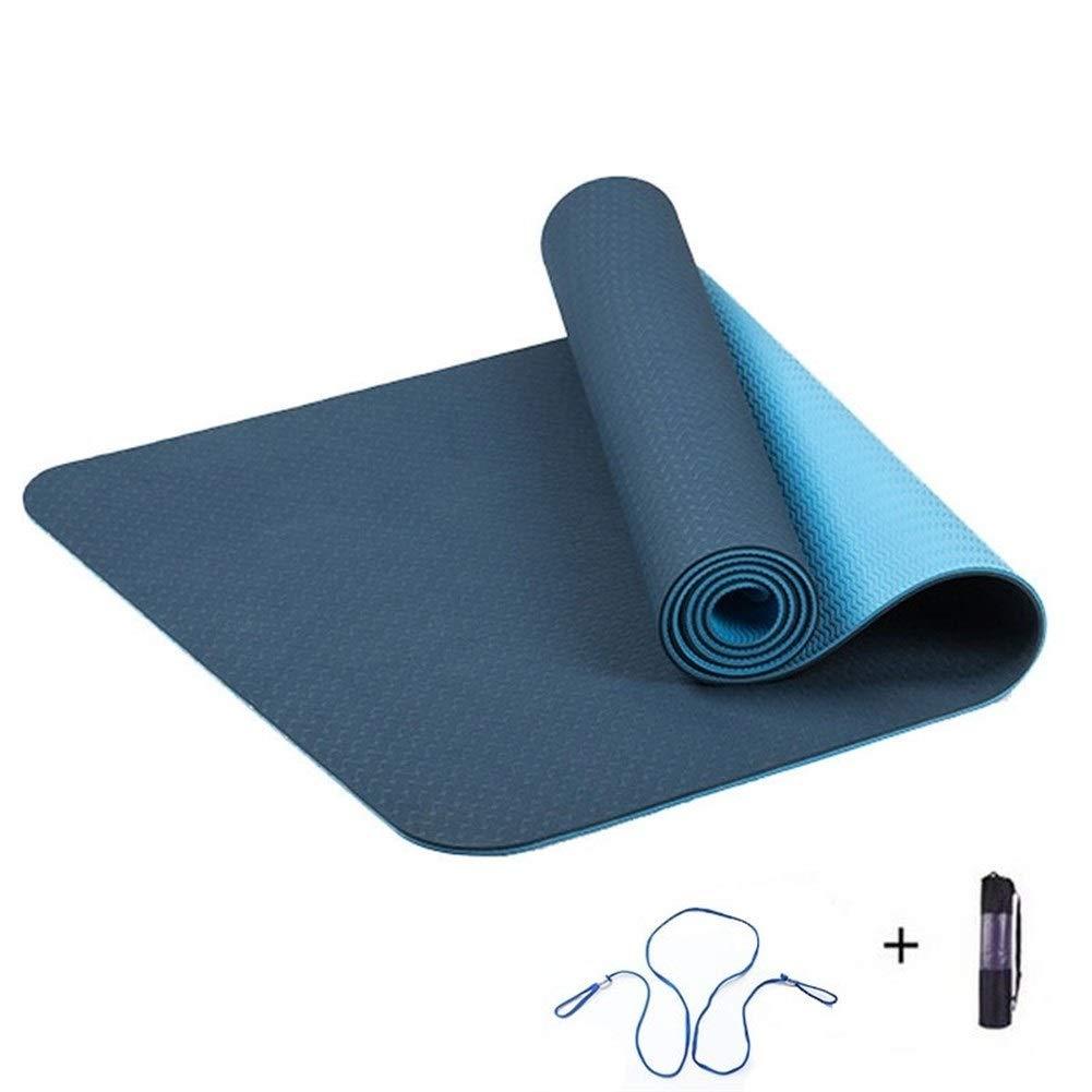 ZRDY 6 Mm De Densidad TPE Yoga Mat Almohadilla De Ejercicio ...