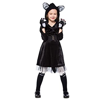 Disfraz Halloween para Niña Niño Girls Cosplay Carnaval Ropa Papel ...