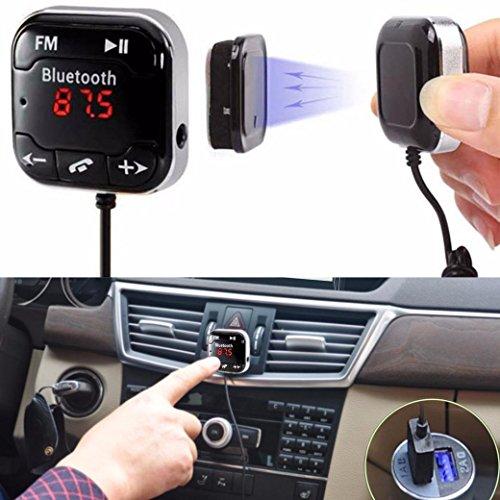 Bolayu Car Kit Wireless Bluetooth FM Transmitter MP3 Player USB SD LCD Remote