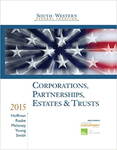 Amazon south western federal taxation 2015 corporations amazon south western federal taxation 2015 corporations partnerships estates and trusts ebook william h hoffman william a raabe fandeluxe Images