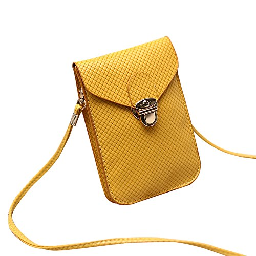 Outflower - Bolso al hombro para mujer, verde (Verde) - 00N9NMANP2716TEE7FO413M0 Amarillo