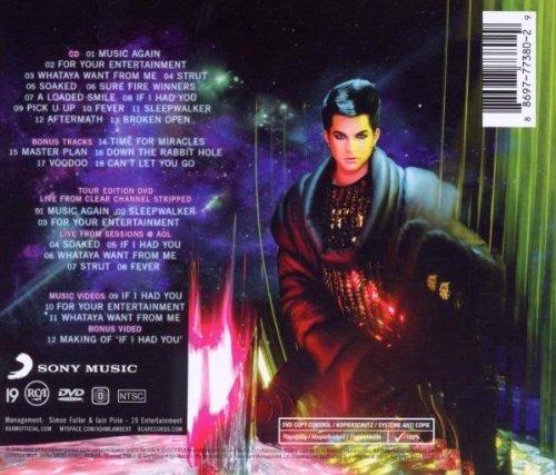 For Your Entertainment : Adam Lambert: Amazon.es: Música