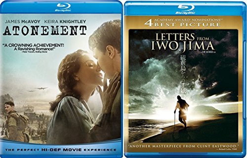 World War 2 Drama Double Feature: Letters From Iwo Jima & Atonement 2-pack movie double feature