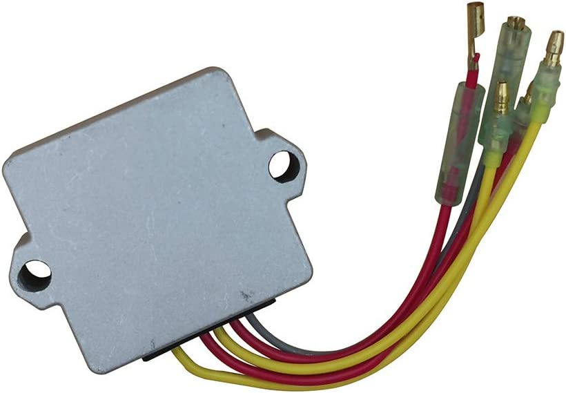 Regulator Rectifier Voltage Mercury Mariner Outboard 5 Wires 25 to 250 HP Replace 815279-1 815279-2 815279-3 815279-4 815279-5 65W-81960-00-00 65W-81960-10-00