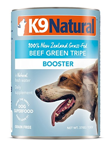 Cheap K9 Natural Canned Dog Food Supplement Booster Perfect Grain Free, Healthy, Hypoallergenic Limited Ingredients Dogs – Wet Dog Supplement – 100% Beef Green Tripe – 13 oz (12 Pack)