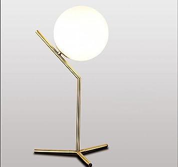 Den De Chevet Nordique Boule Lampe D'étude Moderne Minimaliste erdBoCx