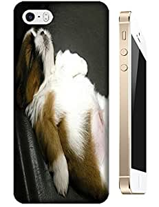 The lovely Dog lay face sky Cute cell phone cases for Apple Accessories iPhone 4/4S