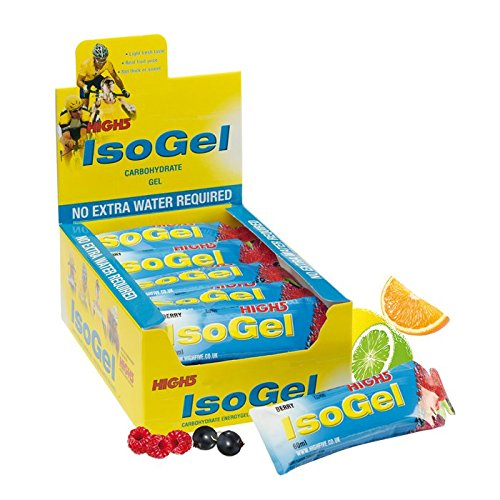 High 5 Citrus Plus Iso Gel Sachets 60ml Pack of 25 by High