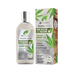 Dr Organic Hemp Oil Rescue Shampoo 265 ml
