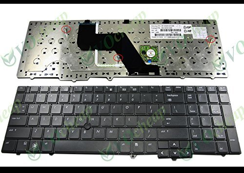 Genuine New US Laptop keyboard for HP ProBook 6540b 6545b 6550b 6555b with Point sticker