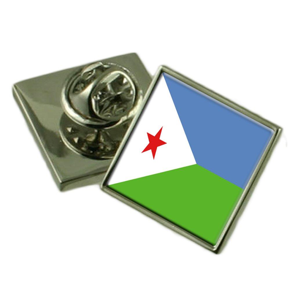 ジブチの旗ラペルピンバッジシルバー 製 925 925 B01N4PY0DX 製 B01N4PY0DX, ビューティーショップ ソフィア:5099dc56 --- 2chmatome2.site