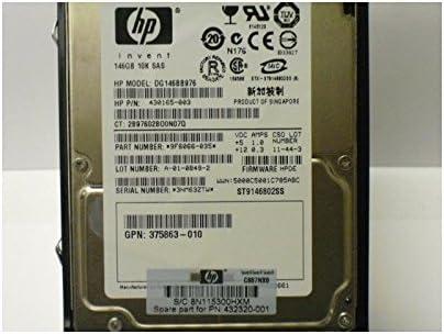 146GB 10K SAS 2.5 Inch HDD