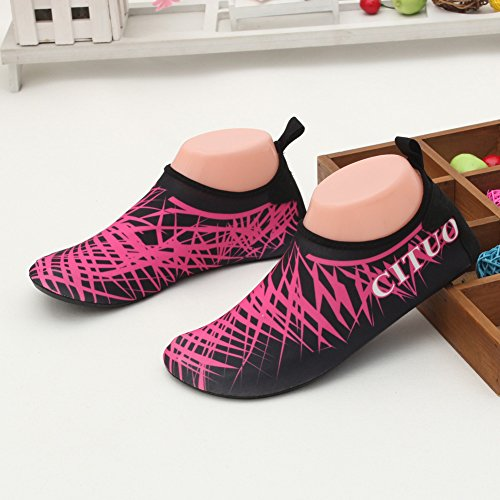 Water Men Shoes and CIOR Yoga Aqua Pool Dark Women Dry Kids Beach Pink Quick Exercise Lightweight Surf For Socks Ydq0d