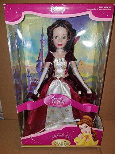 Disney Princess Brass Key Keepsakes Beauty and the Beast Belle Porcelain Doll