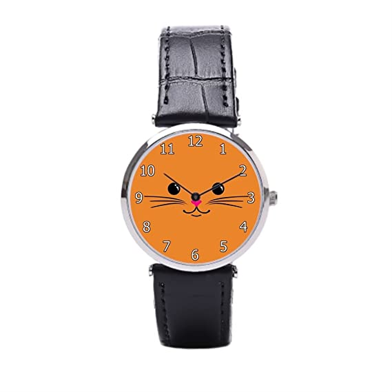 Sueño etapa Kawaii de animales tiendas de reloj de pulsera, relojes de pulsera bebé gato: Amazon.es: Relojes