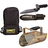 Garrett Backpack + Garrett Metal Sand Scoop + Garrett Edge Digger