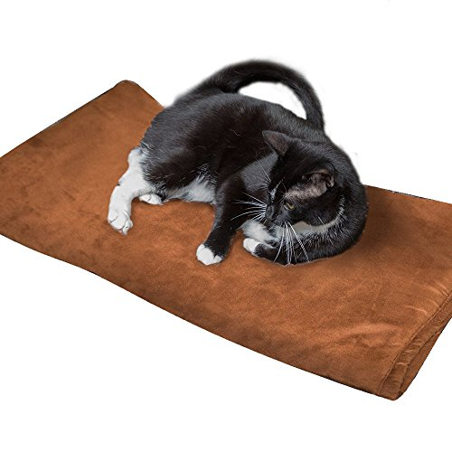Pet Bed- Thermal Warming Mat for Dogs and Cats – XL Size Pad 51G4ciqQIgL