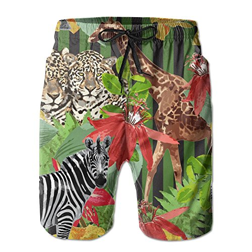 Training Presentation Suit - KUXUANO Zebra Animnal Athletic Mens Board Shorts Swimming Trunks Linen Boardshorts Swim Trunks