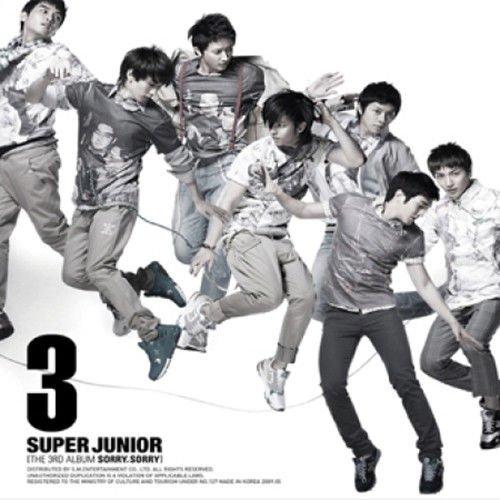 SUPER JUNIOR [SORRY, SORRY] 3rd Album C Ver CD+Booklet+Tracking Number K-POP SEALED