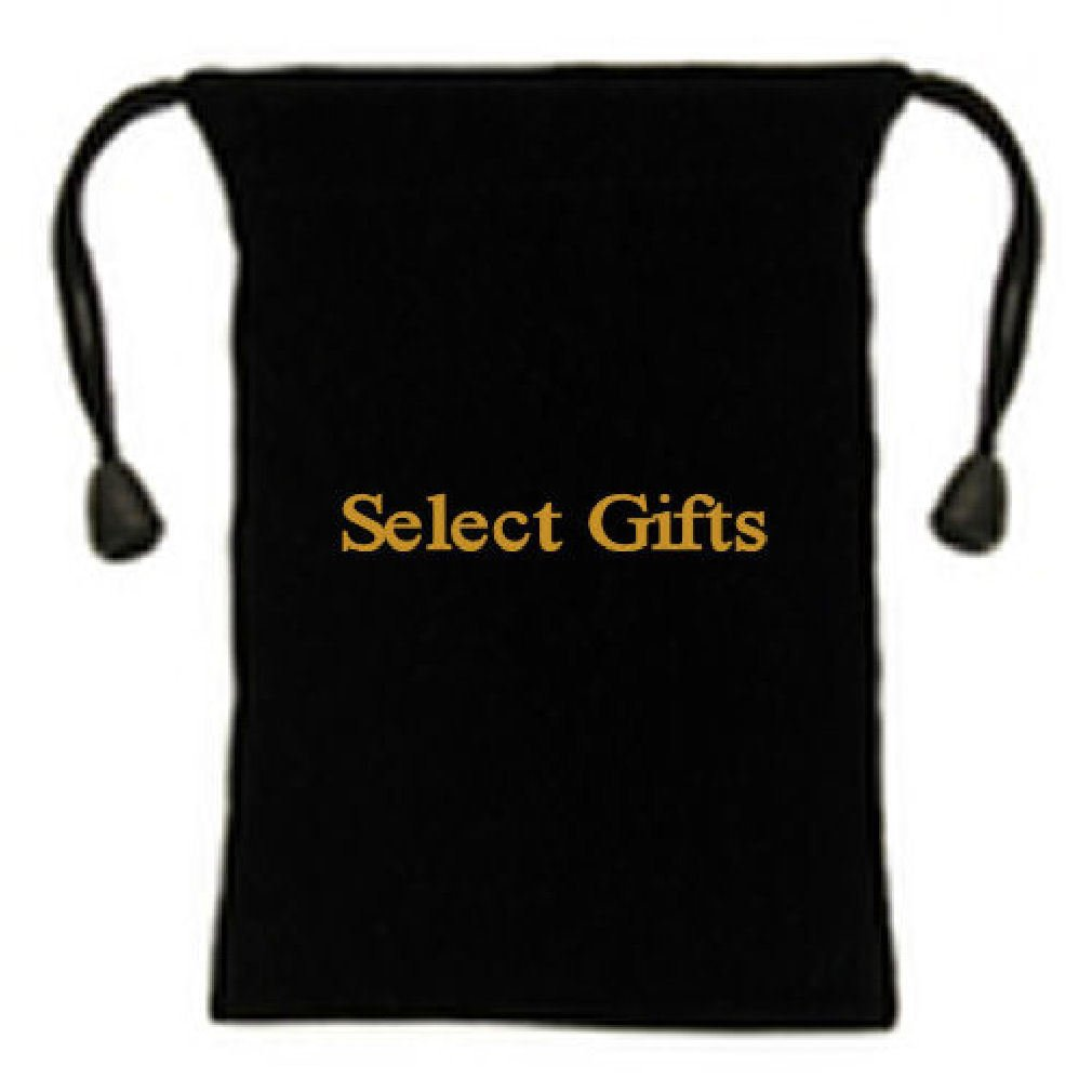 PAIR Polished Bar Cufflinks Select Gift Pouch