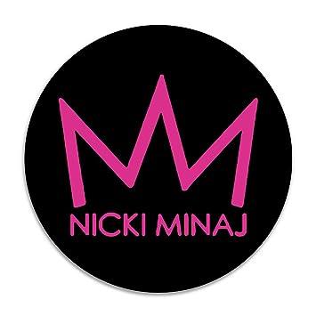 Amazon.com: Nicki Minaj Corona Ronda Cojín Alfombra esteras ...